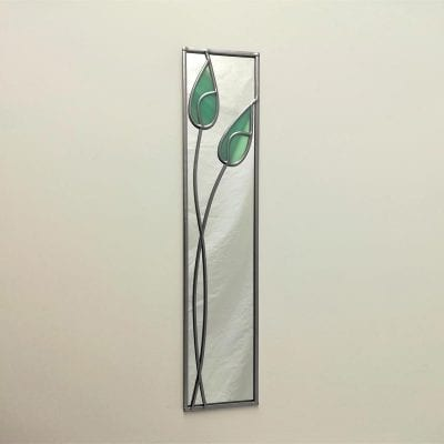 Twin Tulips Mirror
