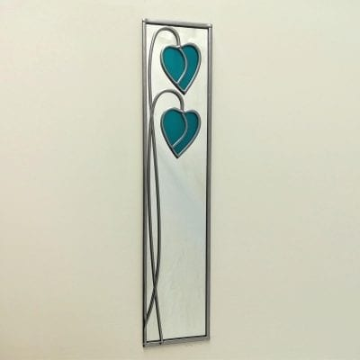 Dropped Hearts Mirror