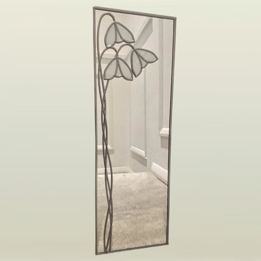 Deco Snowdrop Wall Mirror