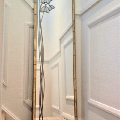 Full Length Snowdrop Mirror