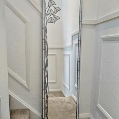 Full Length Snowdrop Mirror