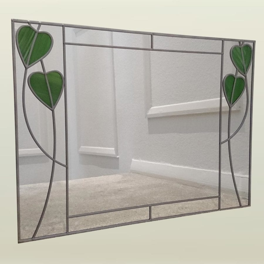 Twin hearts Wall Mirror