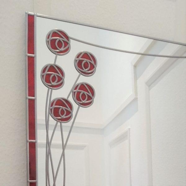 Large mackintosh mantle mirror