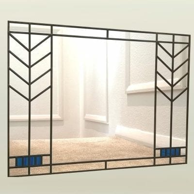 Frank Lloyd Wright Mantle Mirror