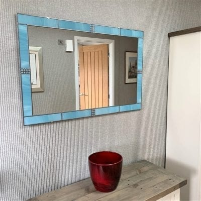 Art Deco Frame Mantle Mirror