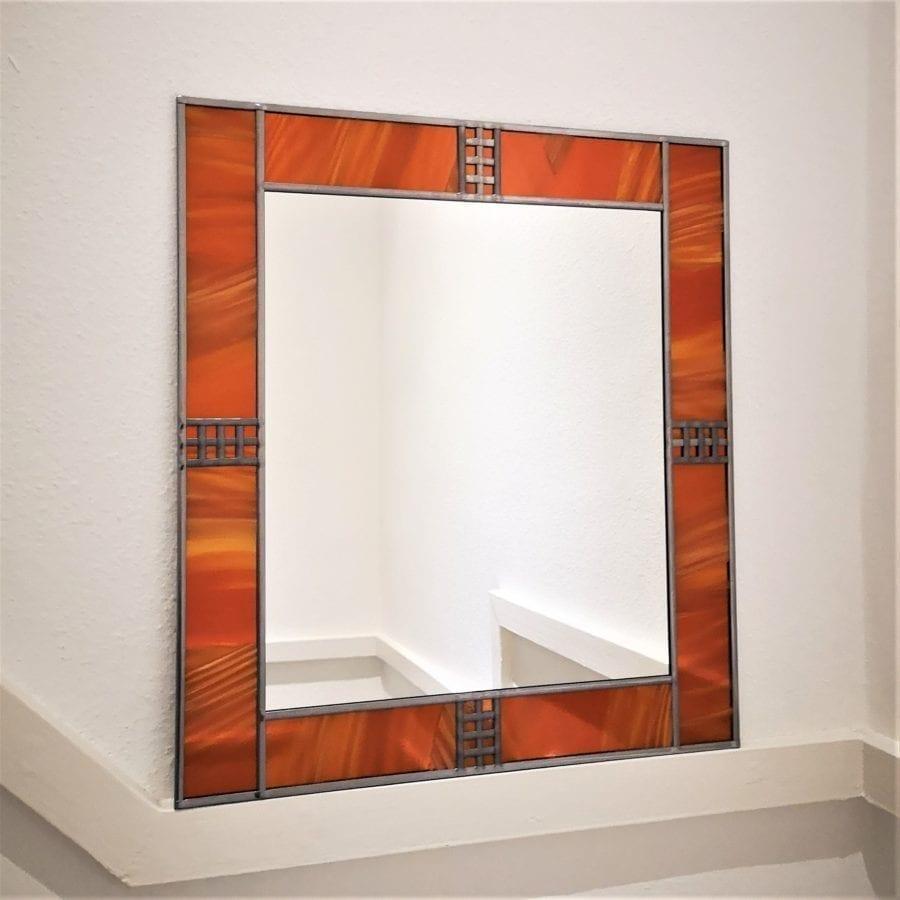 Art Deco Frame mantle mirror