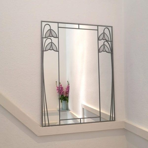 Twin Deco Snowdrop Mirror