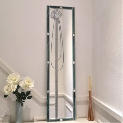Mackintosh rose full length mirror