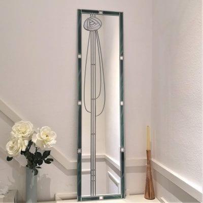 Mackintosh rose full length mirror