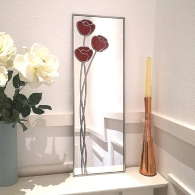 Nouveau Poppy Wall Mirror