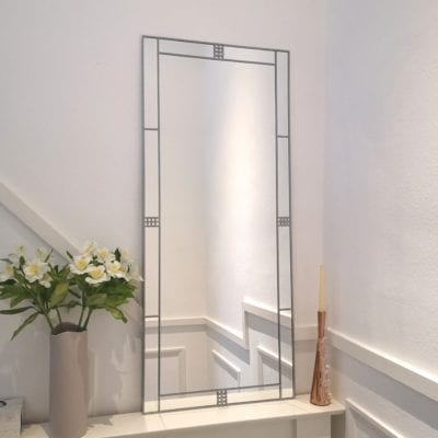 Art Deco Lines Mirror