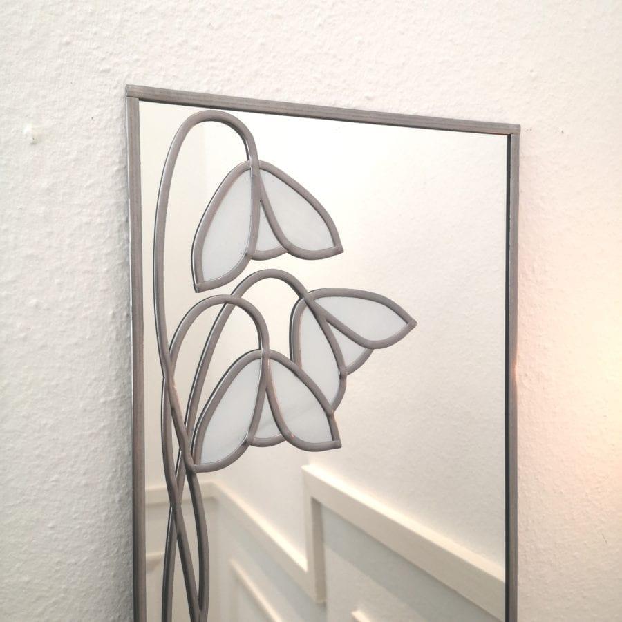 Deco Snowdrop Wall Mirror