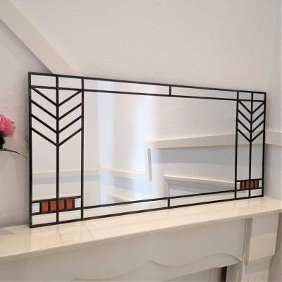 Frank Lloyd Wright Mantle mirror