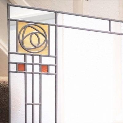 5a87b516a122 Frank LLoyd Wright Rose Mirror 91x61cm (3x2ft)