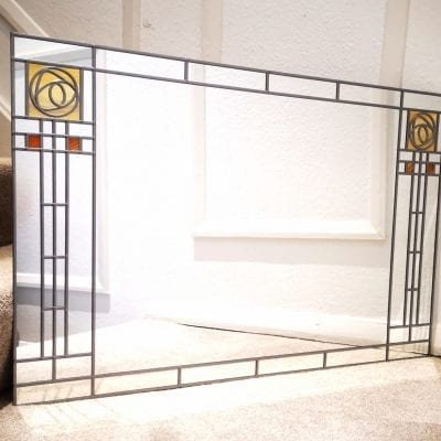 Frank lloyd wright wall mirror