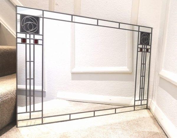 Frank LLoyd Wright wall mirror