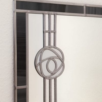 mackintosh rose wall mirror