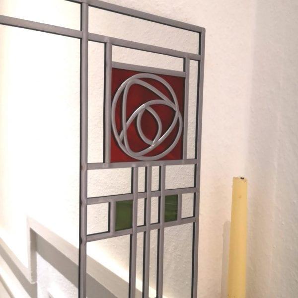 Frank Lloyd Wright Rose Mirror