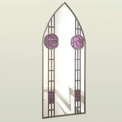 mackintosh rose arch mirror