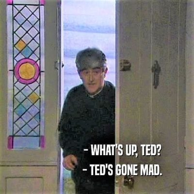 Father ted mirror