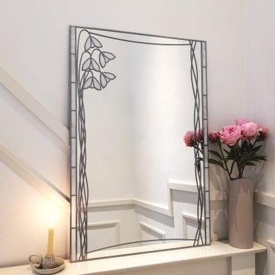 Mockintosh Snowdrop Mantle Mirror
