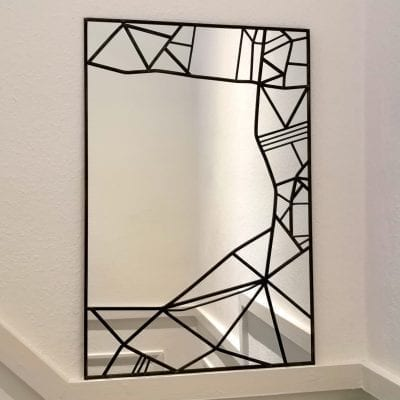 Abstract Lines Mirror