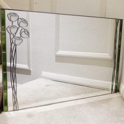 Mackintosh Poppy Wall Mirror
