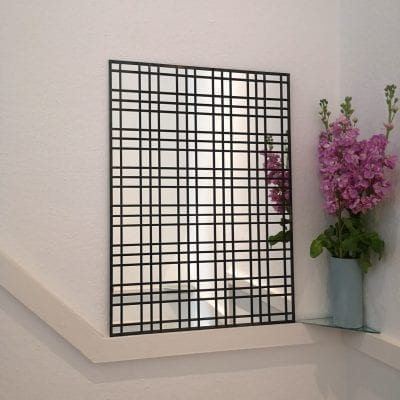 Oriental Lead Lattice Mirror