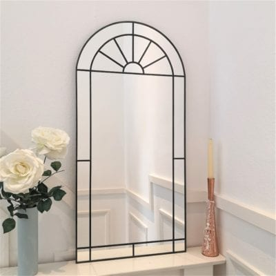 Sunburst Deco Arch Mirror