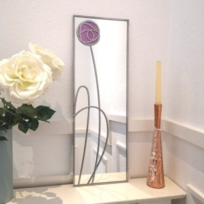 Glasgow Rose Mirror