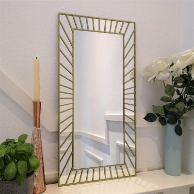 Art Deco Sunburst Mirror