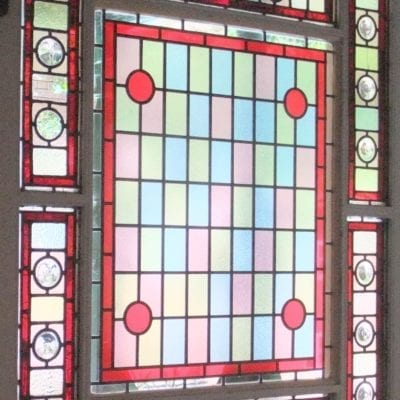 Victoria House Stained Glass Window