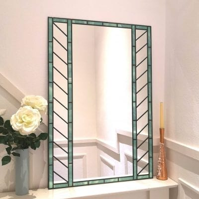 Stained Glass Window Mirror