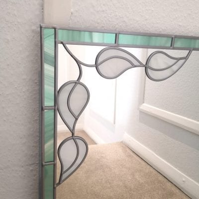 Art Deco Leaf Mirror