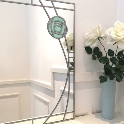 Mackintosh Wild Rose Mirror