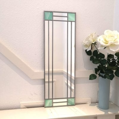 Art Deco Squares Mirror