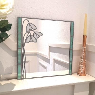 Mackintosh Snowdrop Mirror