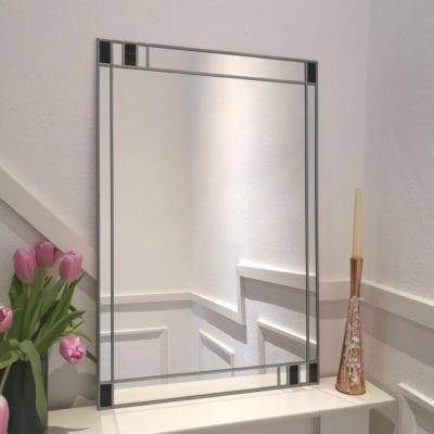 Minimalist Border Mirror