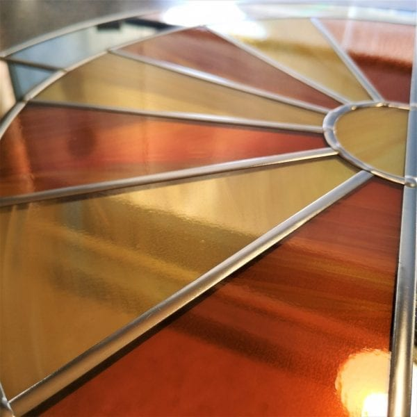 Deco Sunburst Arch Mirror